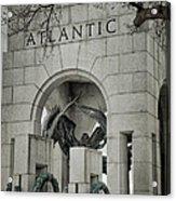 From The Atlantic Acrylic Print by Joan Carroll