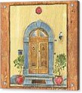 Front Door 1 Acrylic Print by Debbie DeWitt