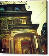 Front Of Old House Acrylic Print by Jill Battaglia