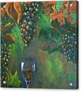 Fruit Of The Vine Acrylic Print by Sandra Cutrer