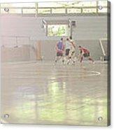 Futsal - Football Court. Acrylic Print by Rodrigo Cesar