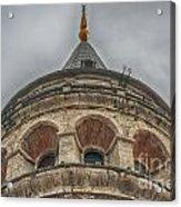 Galata Tower Istanbul Acrylic Print by Antony McAulay