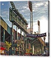 Game Day - Fenway Park Acrylic Print by Joann Vitali