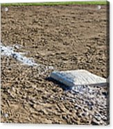 Game Over Acrylic Print by Bob Noble Photography