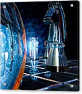 Game Transparent  Acrylic Print by Bob Orsillo