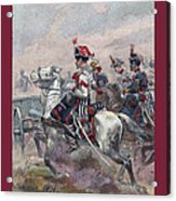 Garde Imperiale 1857 With Fgb Border Acrylic Print by A Morddel