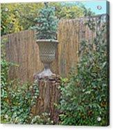 Garden Decor 2 Acrylic Print by Muriel Levison Goodwin
