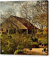 Garden Fantasy Acrylic Print by Linda Unger