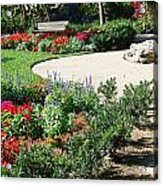 Gardenscape Acrylic Print by Aimee L Maher Photography and Art Visit ALMGallerydotcom