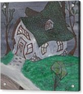 Gaslight Whimsy Acrylic Print by Robert Meszaros
