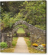 Gateway To The Garden Acrylic Print by Wendell Thompson