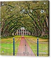 Gateway To The Old South Acrylic Print by Steve Harrington