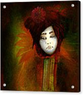 Geisha5 - Geisha Series Acrylic Print by Jeff Burgess