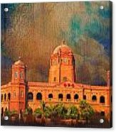 General Post Office Lahore Acrylic Print by Catf