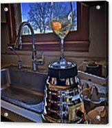 Gentlemen Start Your Blenders Acrylic Print by Mark Miller