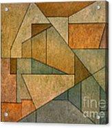 Geometric Abstraction Iv Acrylic Print by David Gordon
