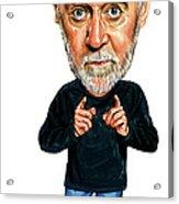 George Carlin Acrylic Print by Art