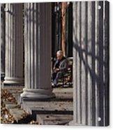 George Street Boone  Acrylic Print by Sid Webb