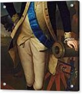 George Washington Acrylic Print by Charles Wilson Peale