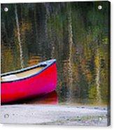 Getaway Canoe Acrylic Print by Carolyn Marshall
