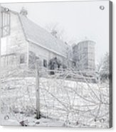 Ghost Barn Acrylic Print by Bill Wakeley