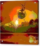 Ghost Huey Apocalypse  Acrylic Print by William Gruendler