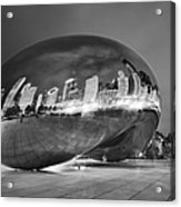 Ghosts In The Bean Acrylic Print by Adam Romanowicz