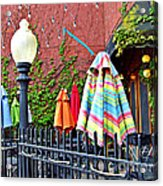 Ghosts Of Good Times Past Acrylic Print by MJ Olsen