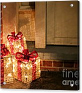 Gift Of Lights Acrylic Print by Olivier Le Queinec