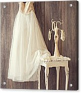 Girl's Bedroom Acrylic Print by Amanda Elwell