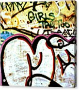 Girls Tag Too Acrylic Print by Trever Miller