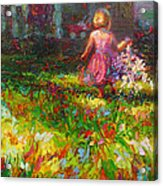 Girls Will Be Girls Acrylic Print by Talya Johnson