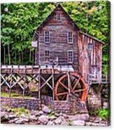 Glade Creek Grist Mill Acrylic Print by Steve Harrington