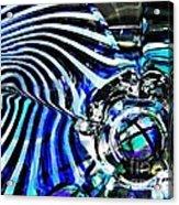 Glass Abstract 132 Acrylic Print by Sarah Loft