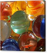 Glass In Glass 3 Acrylic Print by Mary Bedy