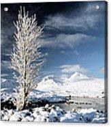 Glencoe Winter Landscape Acrylic Print by Grant Glendinning