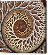 Glynn Spiral No. 2 Acrylic Print by Mark Eggleston
