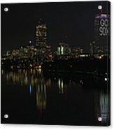 Go Sox Acrylic Print by Juergen Roth