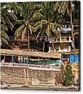 Goa Beach Acrylic Print by Oleksii Vovk