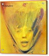Goats Head Soup Album Acrylic Print by Susan Leggett