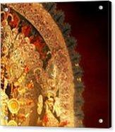 Goddess Durga Acrylic Print by Prajakta P