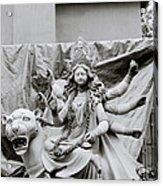 Goddess Durga Acrylic Print by Shaun Higson