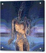 Goddess Acrylic Print by Ursula Freer