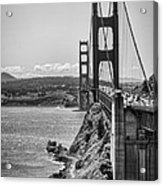 Going To San Francisco Acrylic Print by Heather Applegate