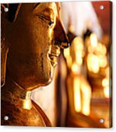 Gold Buddha At Wat Phrathat Doi Suthep Acrylic Print by Metro DC Photography
