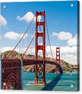 Golden Gate Bridge Acrylic Print by Sarit Sotangkur