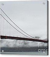 Golden Gate By The Bay Acrylic Print by David Bearden