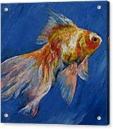 Goldfish Acrylic Print by Michael Creese
