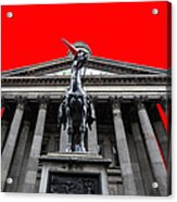 Goma Pop Art Red Acrylic Print by John Farnan