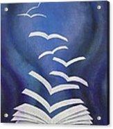 Good News Bible Acrylic Print by Richard Van Order